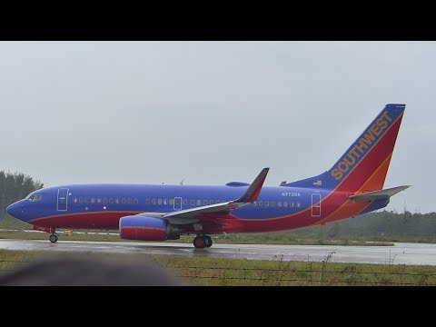 #1 Southwest Airlines 737-700(WL) | First Flight into Nassau ~ Turnaround
