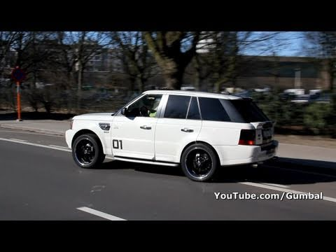 Custom Range Rover Sport Supercharged Accelerations ...