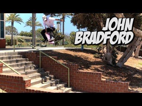 JOHN BRADFORD SKATING IN THE STREET AND MORE !!! - NKA VIDS -