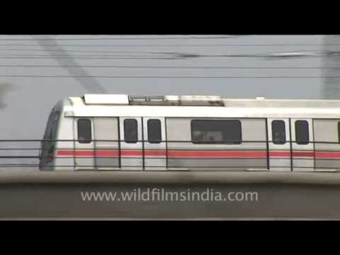 Delhi Metro Trains, India