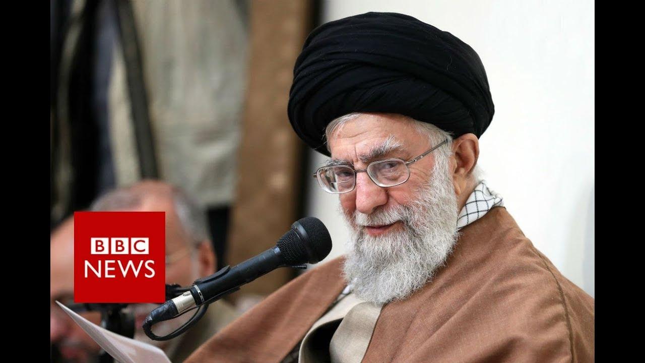 Iran's ruler blames unrest on 'enemies' - BBC News