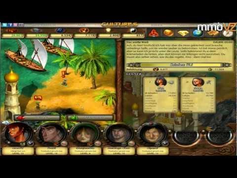 Let's Play Cultures Online #019 - Waffen in der Schmiede verbessern