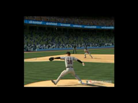 Matt Kemp Walk Off Homerun. Los Angeles Dodgers Vs. San Fransisco Giants. MLB 09 The Show
