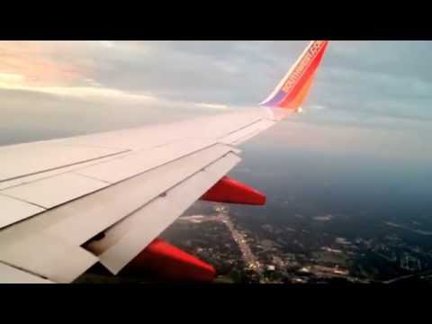 Southwest Airlines landing in albany airport