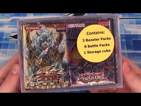 Yugioh Walmart Storage Cube Opening - Hidden Arsenal & Battle Packs