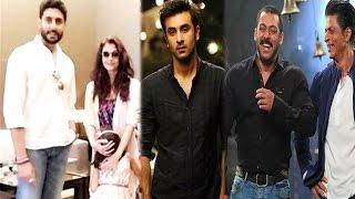 Aishwarya, Abhishek & Their Daughter Holidaying In Dubai | Ranbir Adopts Salman & Shah Rukh's Style