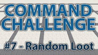 Random Loot Chests! - Command Challenge #7