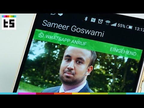 Whatsapp Anrufe Für Android   Techstage video
