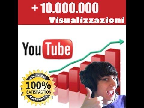 TUTORIAL come fare VISUALIZZAZIONI su Youtube come FAVIJ