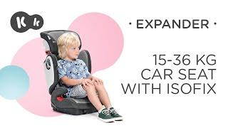 Baby Car Seat 15-36 kg ISOFIX Kinderkraft EXPANDER