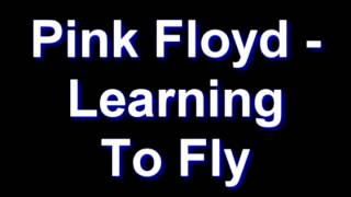 Watch Pink Floyd Learning To Fly video