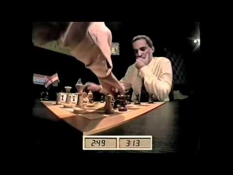 Vishy Anand Vs  Garry Kasparov   Blitz Chess Final Game   omg   YouTube
