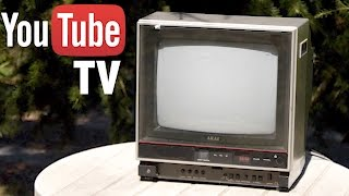 Introducing the YouTube TV - PARODY