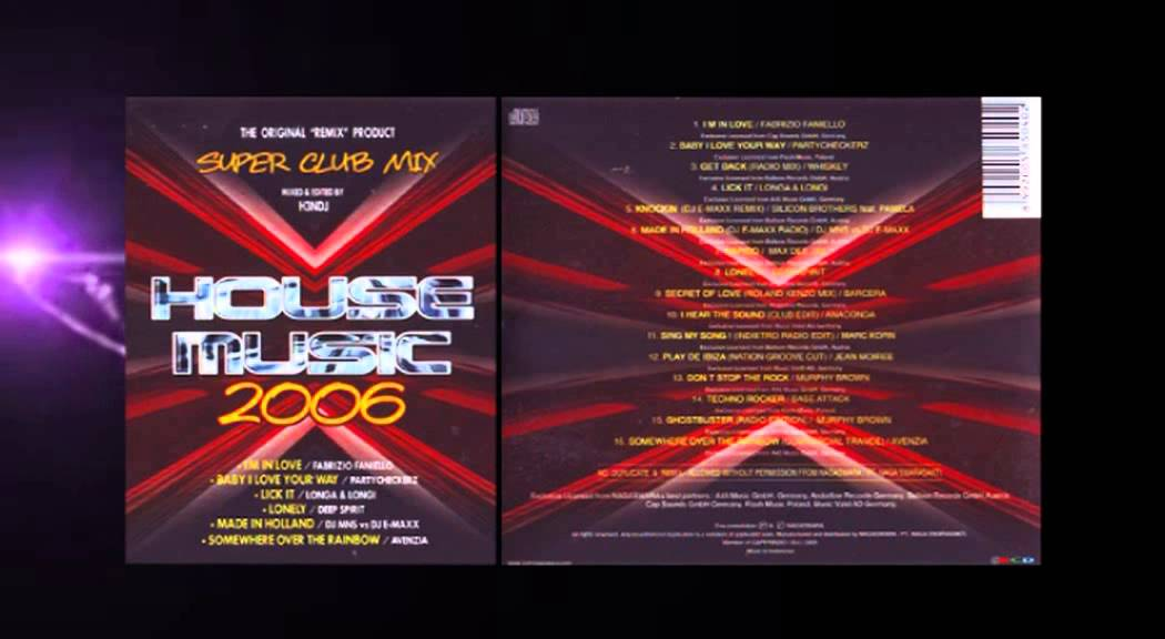 Super club mix house music 2006 youtube for House music club