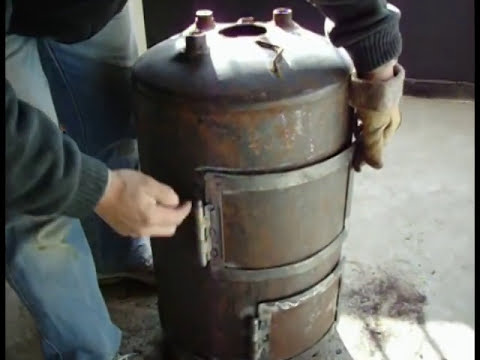 Fabricar una estufa a leña parte 2.mpg