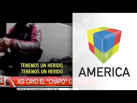 Video: Así detuvieron al Chapo Guzman