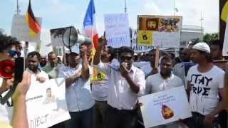 Hyder Ali - Sinhala Speech @ Geneva Demonstration