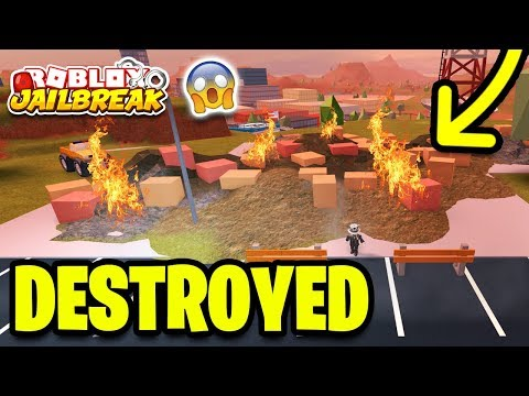 Roblox Jailbreak MUSEUM ROBBERY LOCATION! BUILDING DESTROYED! (New Mini Update)