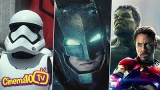 Vingadores 2, Star Wars 7, Batman vs Superman e muito mais | Cinema10 TV #90