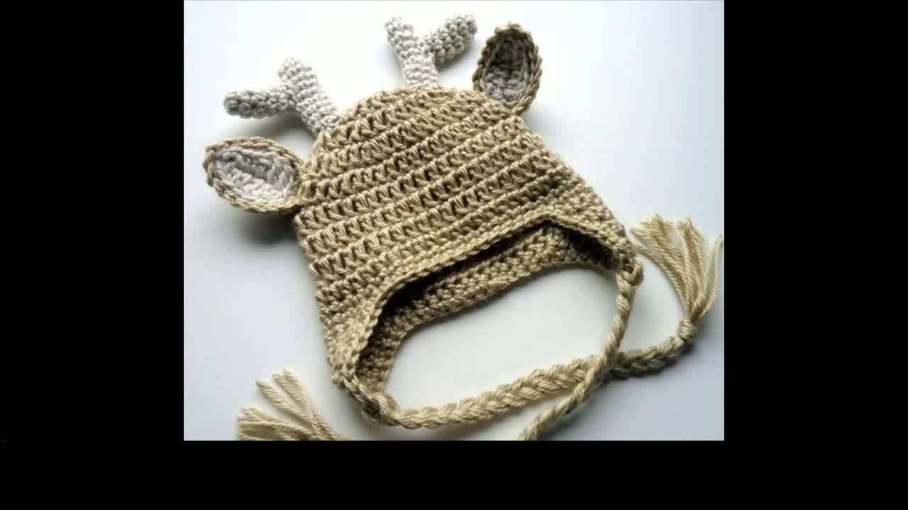 Free Crochet Pattern Baby Girl Boots : crochet animal hat patterns - YouTube
