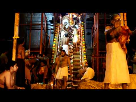 Sabarimala Ayyappa 18 Steps Padi Pooja Part 1 video