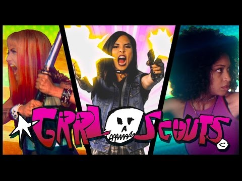 GRRL SCOUTS // A drug-fueled action comedy