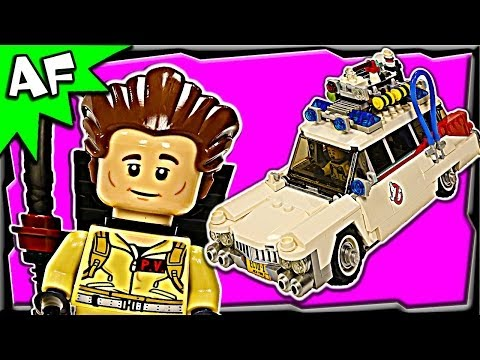 Lego Ideas GHOSTBUSTERS Ecto-1 21108 Stop Motion Set Review