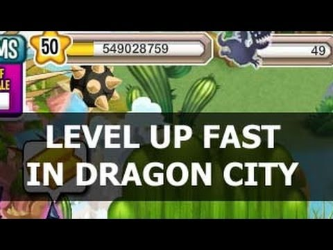 How to Level UP FAST in Dragon City Lots of Experience GUIDE
