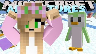 MINECRAFT Little Kelly : MORPH PENGUIN HIDE & SEEK W/ Little Carly & The MineVengers