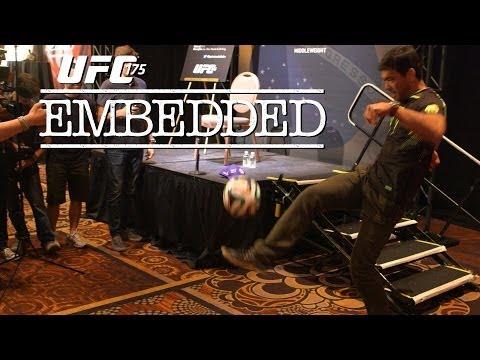 UFC 175 Embedded Vlog Series  Episode 4