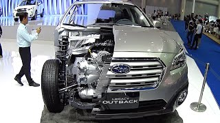 All new 2016, 2017 Subaru Legacy Outback How it Made, look inside