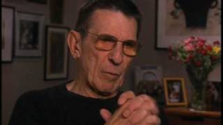 Leonard Nimoy discusses the Star Trek pilot - EMMYTVLEGENDS.ORG