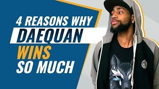 4 Reasons why Daequan WINS SO MUCH | (Fortnite Battle Royale PRO Tips)