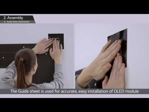 LG's Wallpaper OLED Signage Installation Guide (55EJ5C)