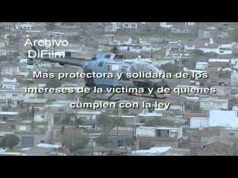 DiFilm - Spot Policia Federal Argentina Proteccion Social Maxima 1997