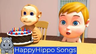 Learn Colors Childrens Nursery Rhymes & Baby Songs Happy Hippo