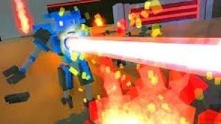 POBBROSE HỦY DIỆT HẠM ĐỘI ROBOT BẰNG LAZER 1000 ĐỘ !!! (Pobbrose đấu trường robot) ✔