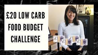 Eating Low Carb for £20 a Week