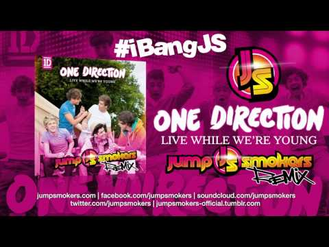 One Direction live While We're Young Jump Smokers Remix video