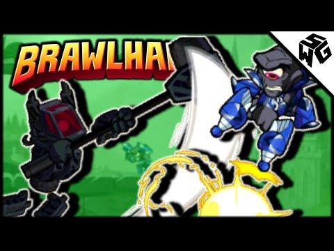 Diamond Ranked Kor 1v1's - Brawlhalla Gameplay :: Got Kor to Lvl 25!