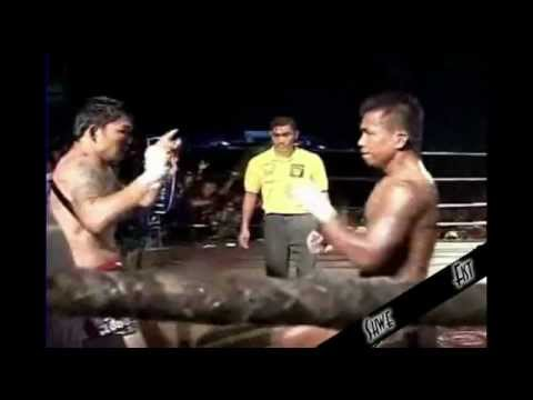 Saw Shark(Myanmar Lethwei) vs. Par Wee(Muay Thai)