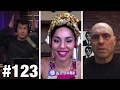 #123 WEED FIGHT! Joe Rogan And Joy Villa | Louder With Crowder