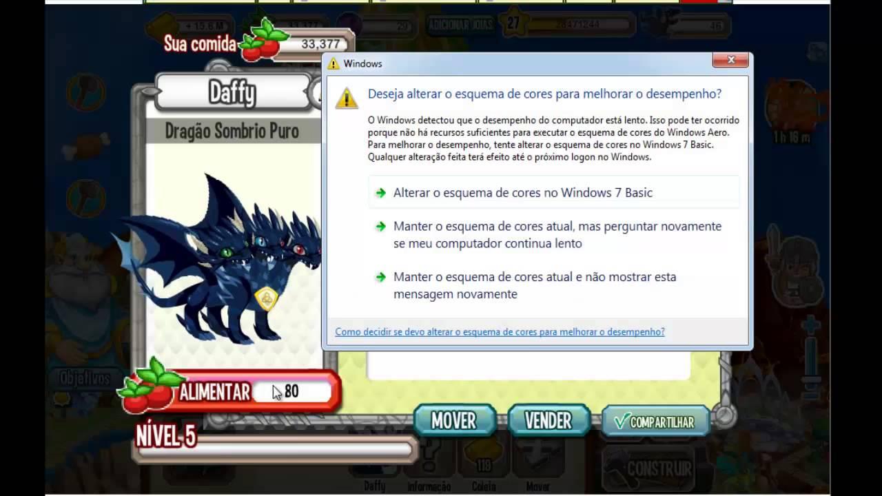 Dragon City Dragão Puro Dragon City-dragão Sombrio