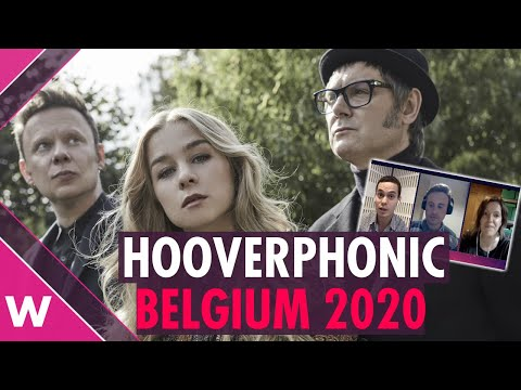 Hooverphonic - Belgium Eurovision 2020 artist reaction