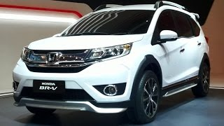 Honda BR-V 2015 Review  Exterior & Interior