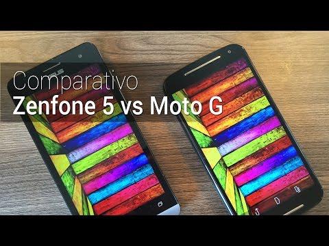 Comparativo: Zenfone 5 vs Moto G (2014) | Tudocelular.com