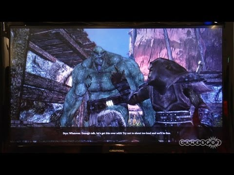 Of Orcs and Men - A Greenskin Duo Demo - Gamescom 2012