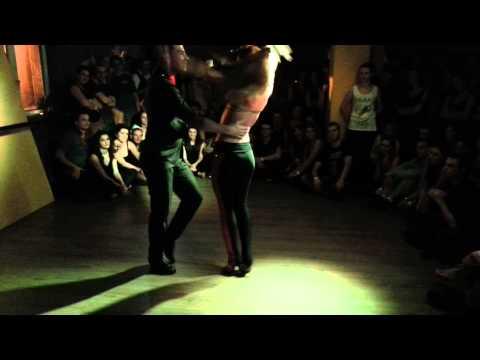 Daniel y Desiree - bachata show at loftodancepl 0712