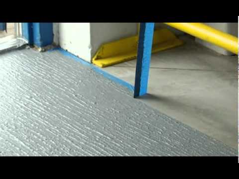 Rust Oleum Concrete Saver Anti Slip Floor Coating Youtube