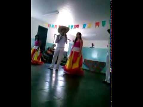 Colégio Dom Abel S.U comemorando o Folclore Brasileiro